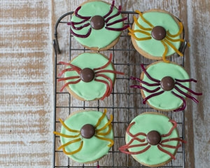 spider biscuits