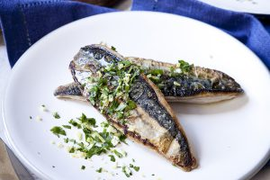 Mackerel Fillets with Gremolata