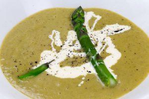 Asparagus Soup (Sparrissoppa)