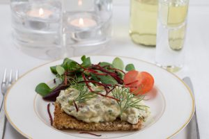 Eggs with Swedish Anchovies (Gubbrora)