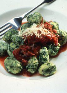 Italian Spinach and Ricotta Gnocchi