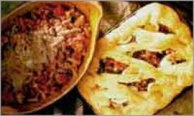 Tomato Fish Pie and Spicy Macaroni Cheese