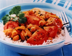 Tomato and Chickpea Curry