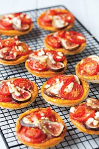 Tomato and Fig Tarts